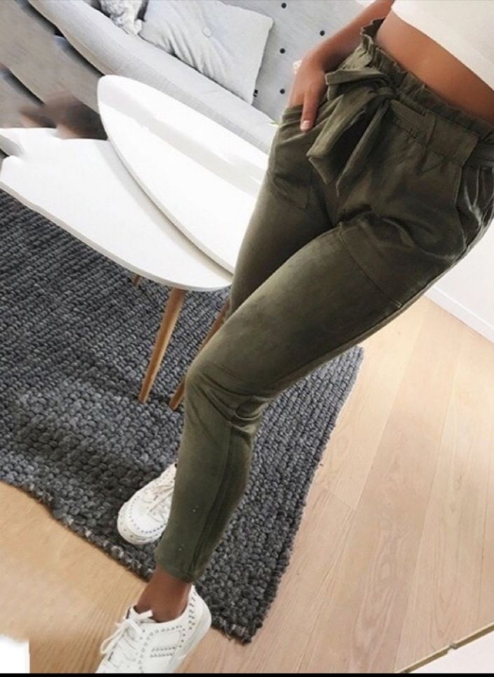 Pantalon souple Zara