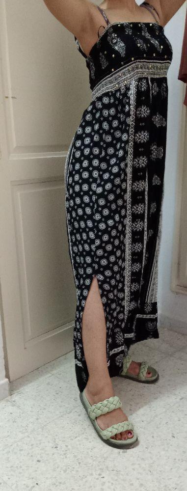 Robe ovs avec 2 fentes tress doux et jolie