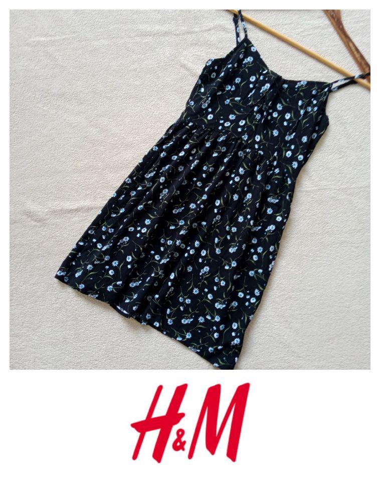 Robe de la marque H&M tissu imprimé floral tailme S ❤️❤️ article neuf sans étiquette