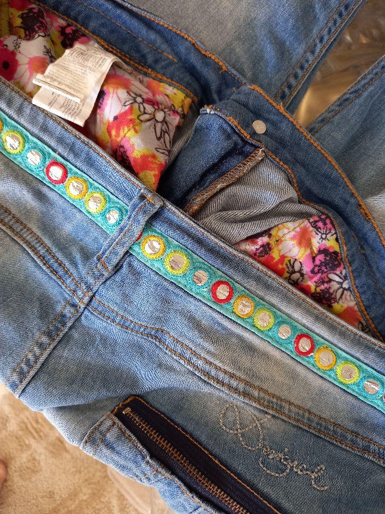 Jeans desigual brodé