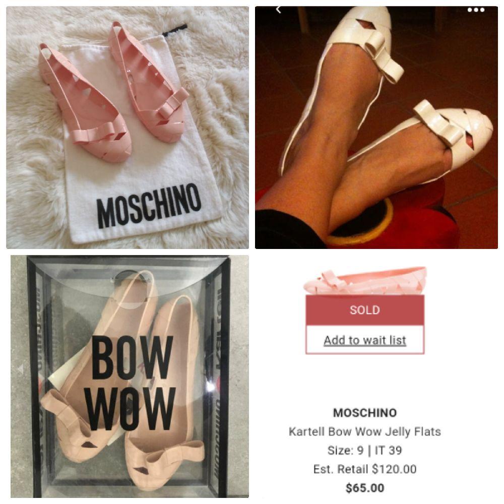 Ballerines BowWow Moschino by kartell tt neuf
