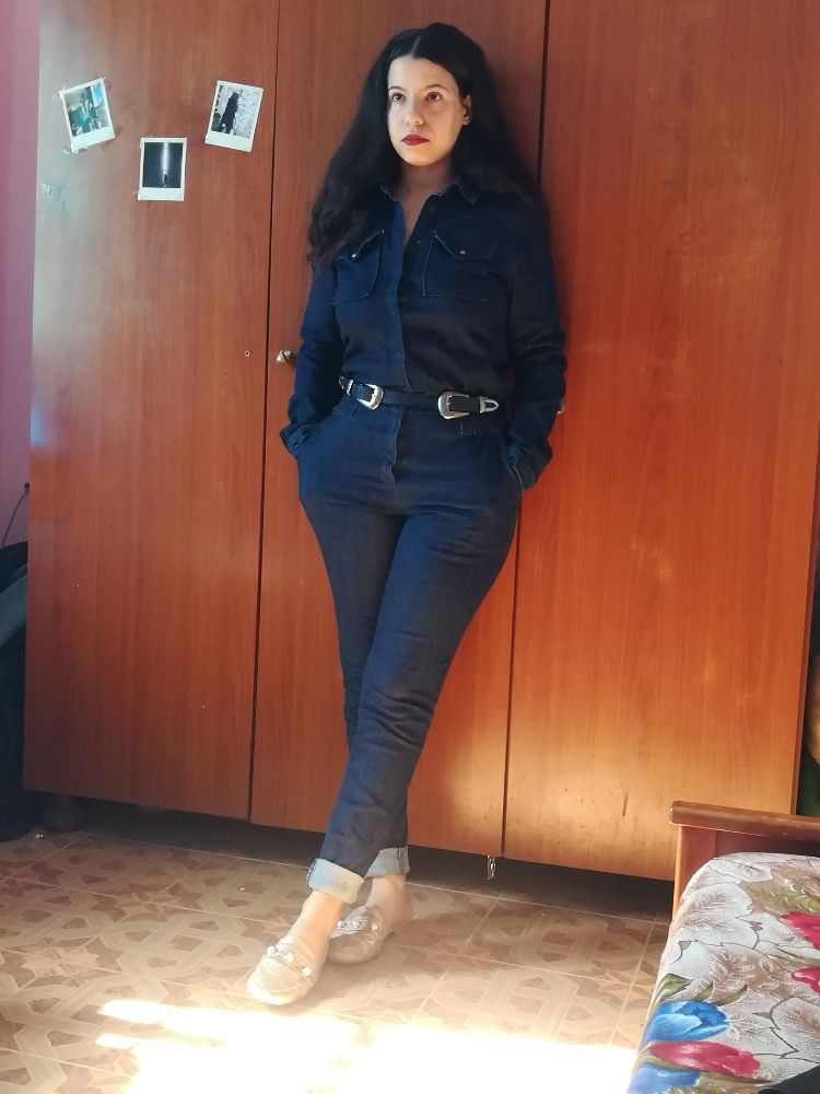 Combinaison jeans kiabi