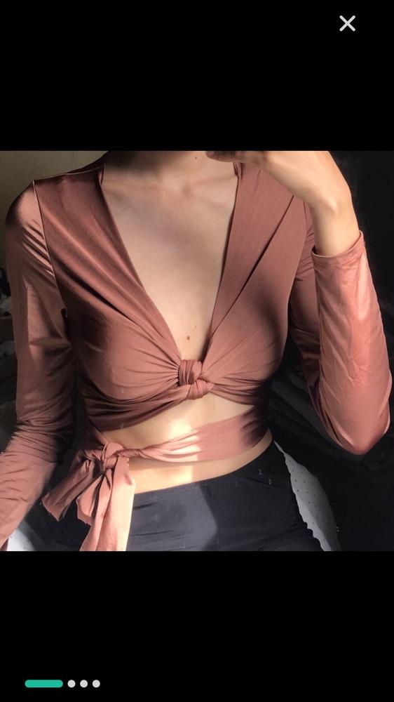 Crop top fashion nova