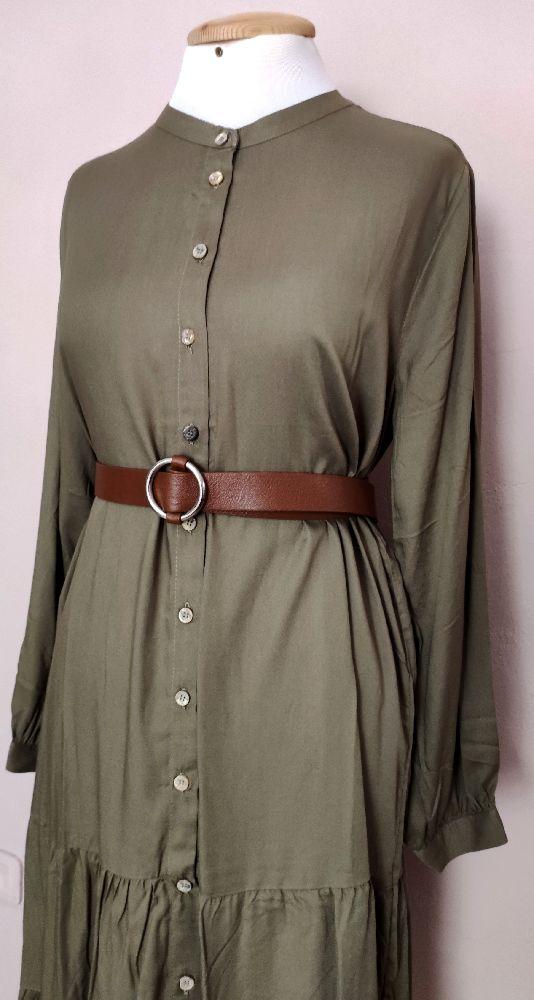Robe chemise+ ceinture
