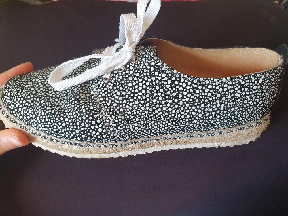 Chaussures noir/blanc