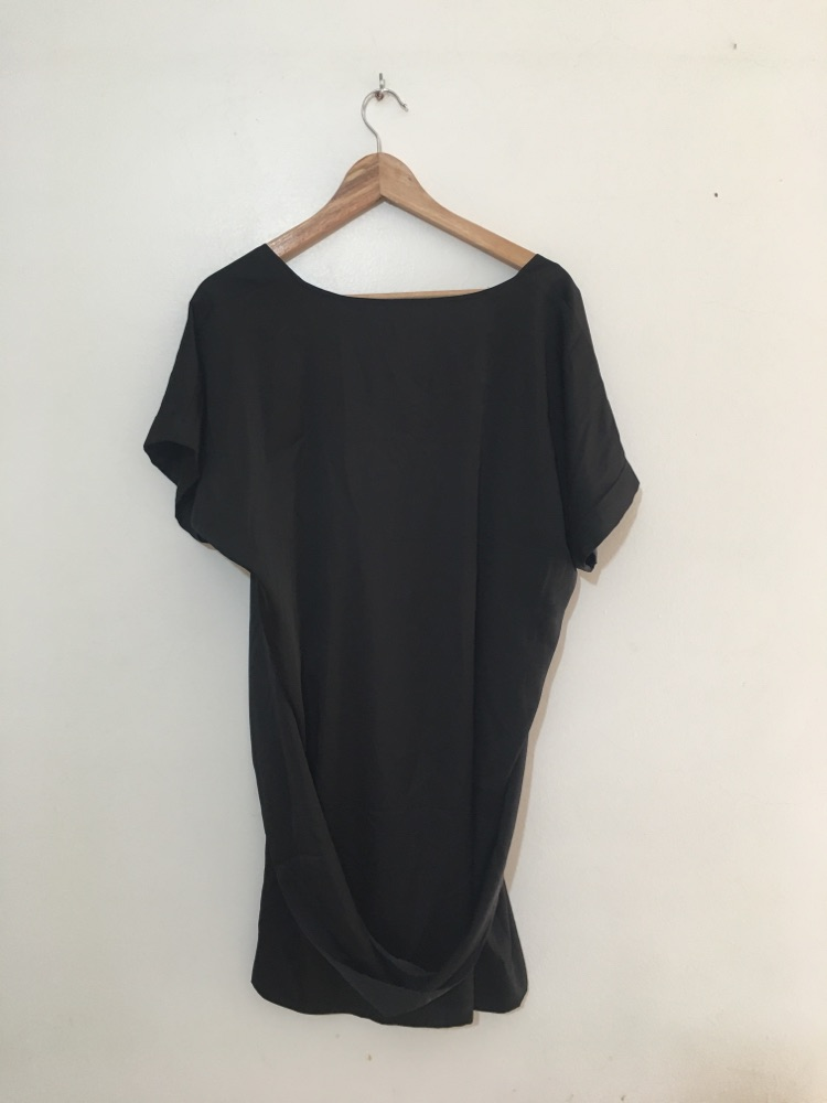 Silk like Tunic Dress