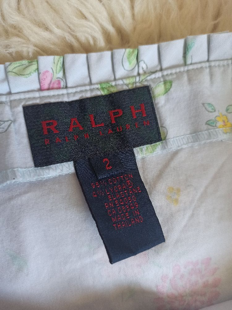 Robe Fleurie Ralph lauren