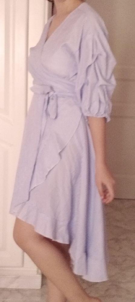 Robe croisée