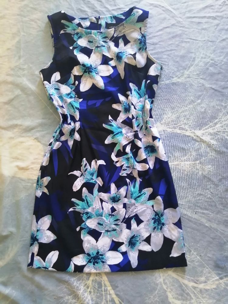 Robe impression floral