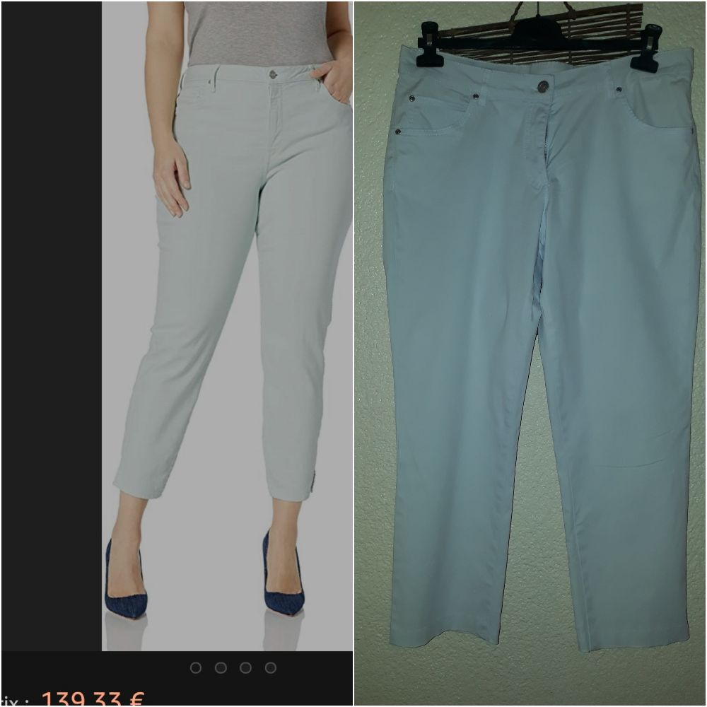 Pantalon blanc pour été 44/46