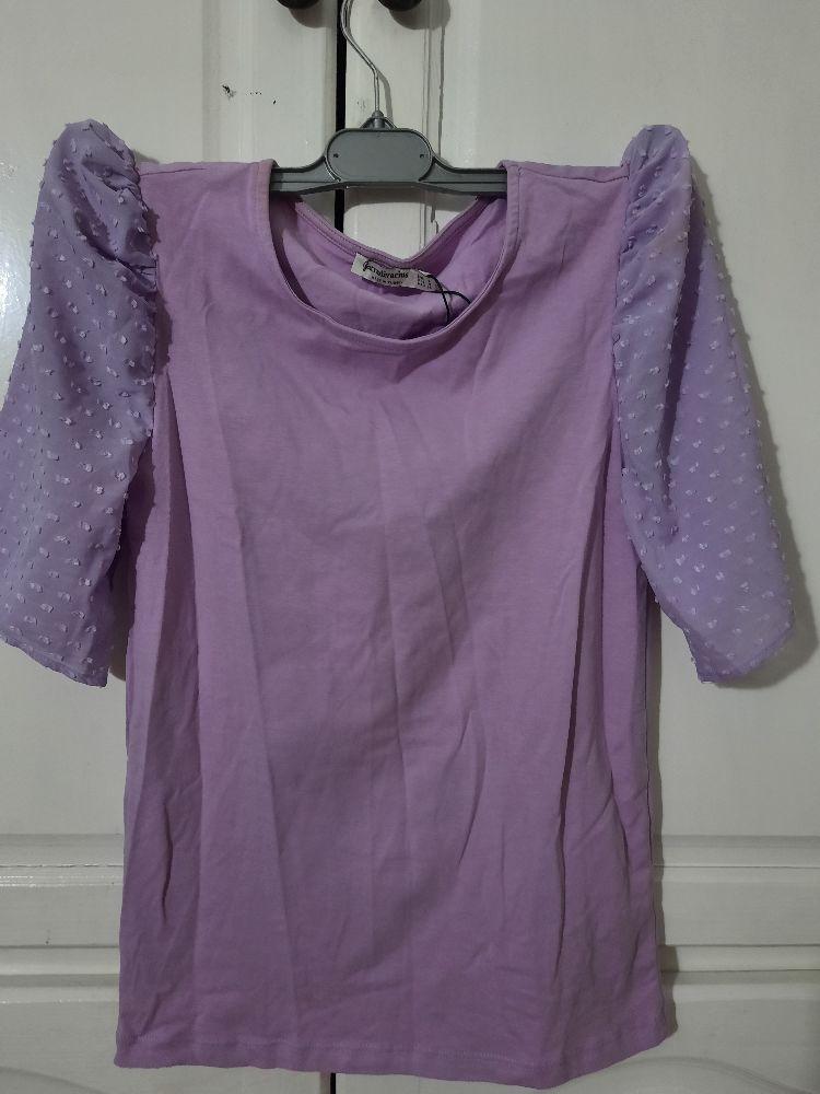 T shirt lila