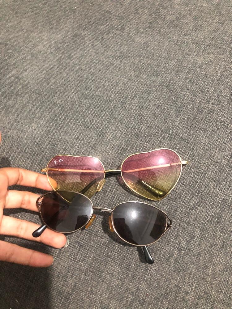 2 lunettes simples