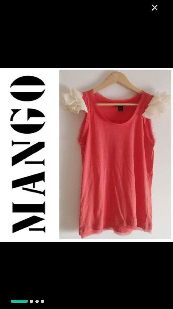 T shirt Mango tres chic