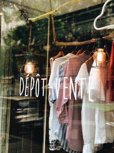 Dressing de Dépôt-vente