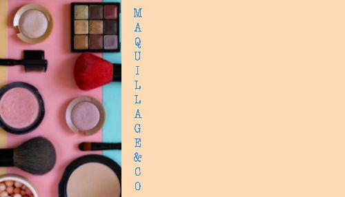 Dressing de importation-maquillage